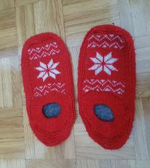 Zimske božićne papuče