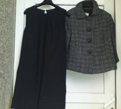 %Mango lotić slatka mala haljinica+ retro kaputić
