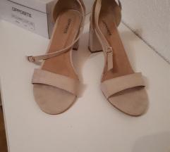 Sandale, stabilna peta