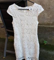 AMISU čipkasta haljina