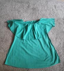 Tirkiz zelena tunika/ haljina