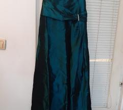 Tamno zelena svečana haljina