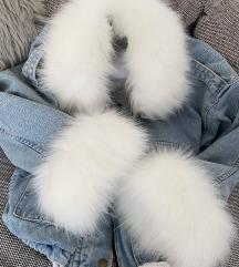 Jeans jakna s krznom