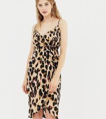 Nenošena leopard haljina