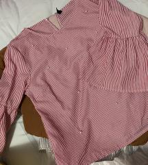 Amisu bluza na prugice