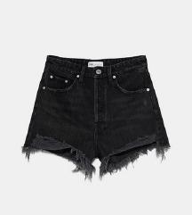 ZARA crne kratke hlače NOVE