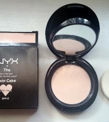 NOVO NYX Twin cake puder u kamenu - Pale