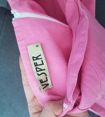 ASOS roza haljina na jedno rame