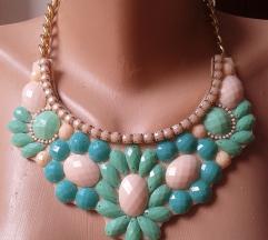 elegantna ogrlica s cirkonima