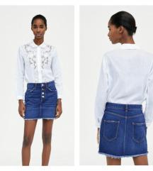 Zara nova traper suknja