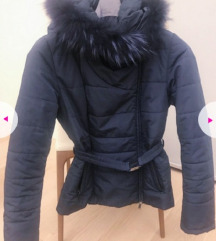 Predivna plava zimska jakna S/M