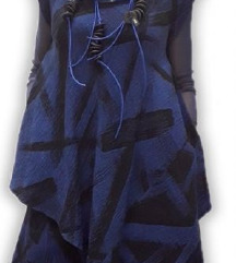 Tunika plavo-crna