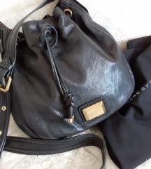 Marc Jacobs crna kožna torbica basket bag