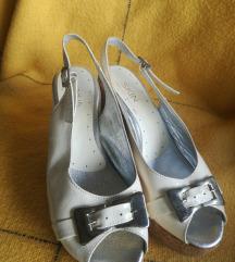 Sandale sa plutom kožne