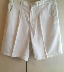 Bijele kratke hlače-NOVE