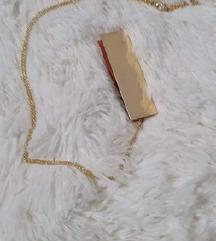 Mango zlatna ogrlica s privjeskom