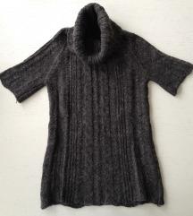Mango sivi pulover