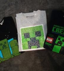 Minecraft majice
