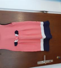 Benetton Roza dječja haljina