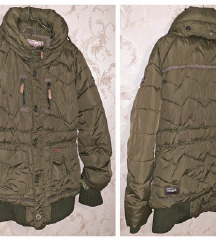 Khujo - 40 / 42 - maslinasta zimska jakna