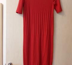 Zara midi pletena haljina S