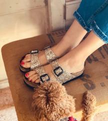 Anniel sandale srebrne
