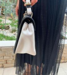 Crno bijela torbica
