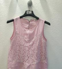 Cipkasta roza majica