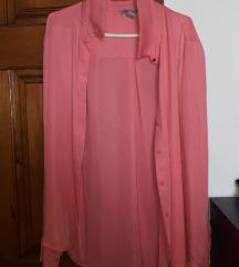Roza košulja iz h&m