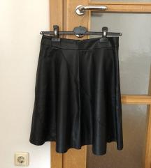 Amisu kožna suknja