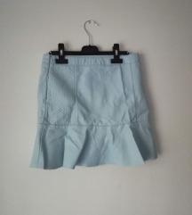 Peplum suknja