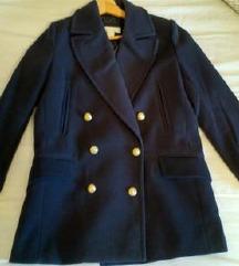 plavi kaputić H&M