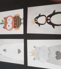 Slike (art print) za djecju sobu