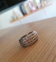 srebrni prsten 925, 19mm
