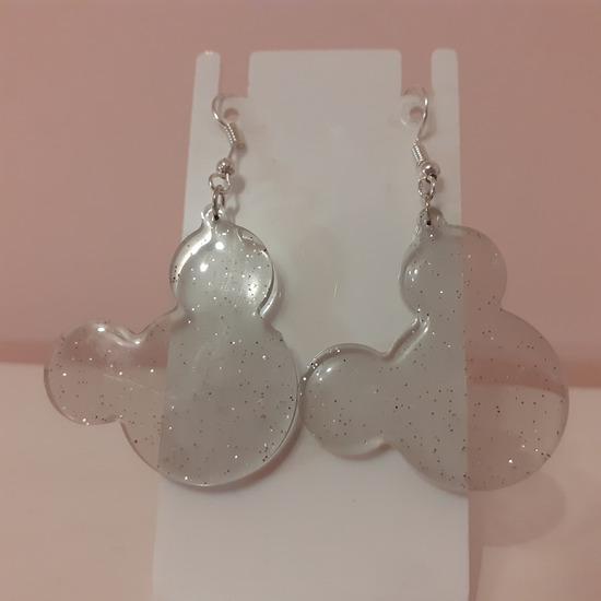 Mickey mouse naušnice od epoxy smole