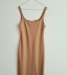 Zara elastična nude haljina