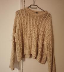 h&m knit/pleteni pulover