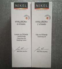 Nikel hyaluron+B losion i hyaluron+E ulje - novo