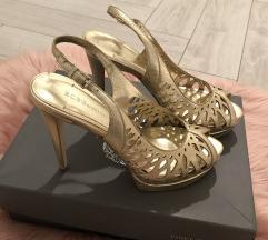 BCBGeneration zlatne sandale 36
