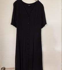 Monki crna ljetna haljinica