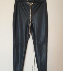 Zara kožne hlače S