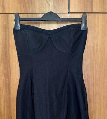 Uska korzet haljina bez naramenica 40