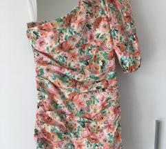 Zara cvjetna haljina sa etiketom