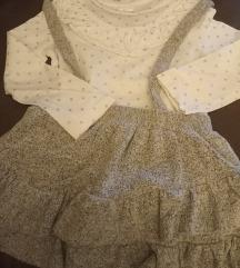 Zara suknja s tregerima