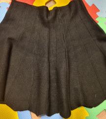 Crna zimska suknja M/L  *prodaja/zamjena*