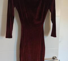 Velvet haljina otvorena ledja