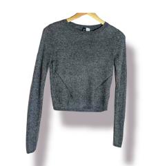 ⭐HM sivi tanki pulover od viskoze⭐