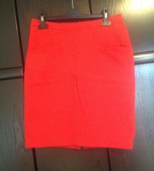 Koraljna H&M suknja