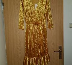 Plišana nova haljina