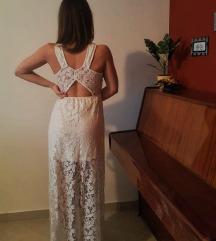H&M duga svečana haljina S